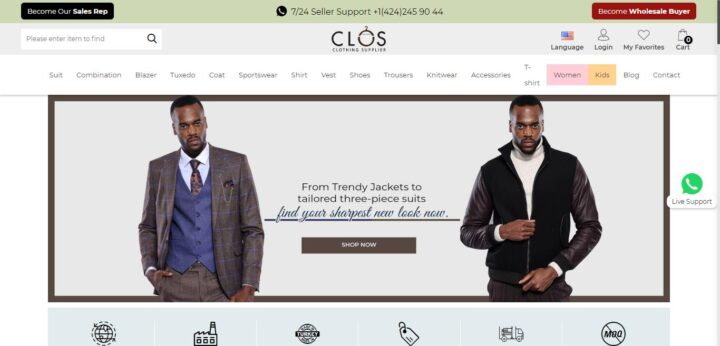 Clogs Clothing Supplier