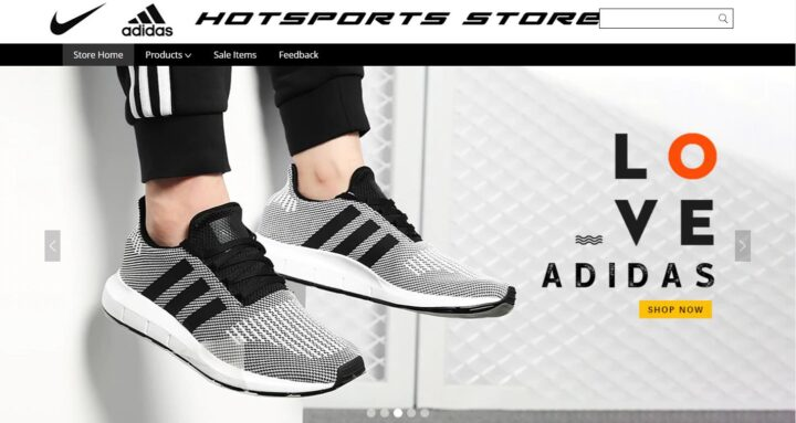 Hot Sports Store