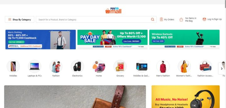 Paytm Mall - India online shopping site