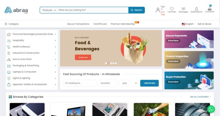 Abraa - Wholesale Market For B2B Suppliers