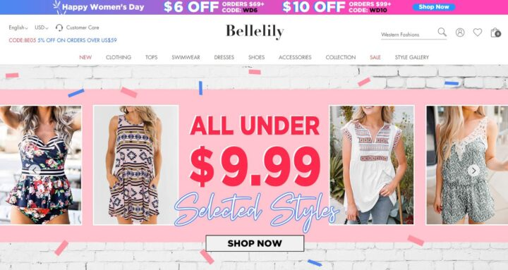 Bellelily - Women's Online Clothing & Accessories Store