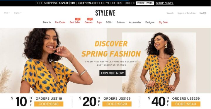 StyleWe - shop for women clothing